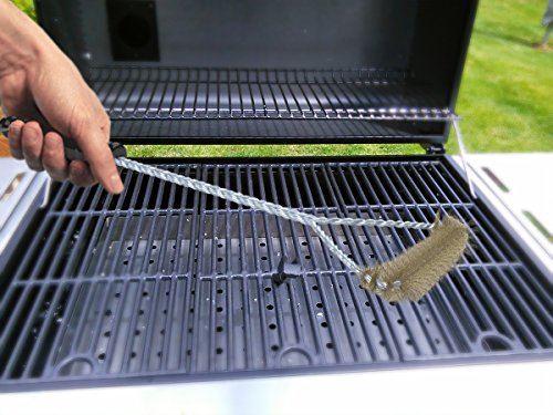 Cheapest Price! Barbecue Grill Brush - Weber Stainless Steel Cleaner - 16 inch Long Handle - Barbequ...