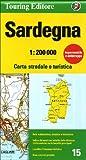 Sardinia {Sardegna} (Regional Road Map)