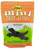 Zukes Mini Naturals Dog Treats, Salmon, 1lb. ( Multi-Pack)