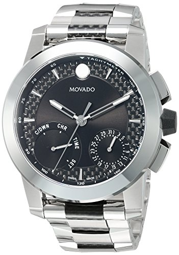 Movado-Mens-Swiss-Quartz-Stainless-Steel-Casual-Watch-ColorSilver-Toned-Model-0607030