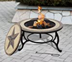 SALTILLO Table & Firepit - Large Fire...