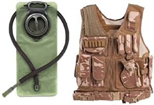 GMG-Global Military Gear British Desert Camo Tactical Scenario Military-Hunting... by GMG-Global Military Gear