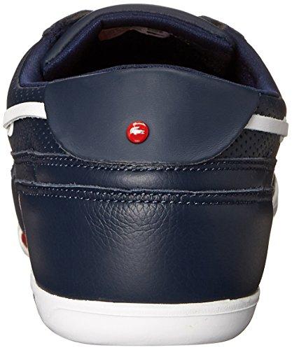 Lacoste Men's Dreyfus Boat Shoe,Dark Blue/White,9 M US