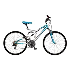 Mantis Orchid Women's 26 Inch Bike Blue/Silver