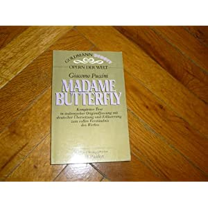 Madame Butterfly (5694 140)