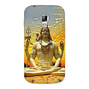 Shiva Samadhi Print Back Case Cover for Galaxy S Duos
