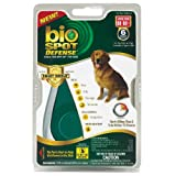 Bio Spot Defense Flea and Tick Spot On with Applicator for Dogs 56-80-Pound- 6 Month Supply