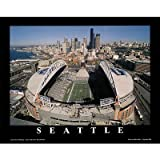 (8x10) Mike Smith Seattle Seahawks Qwest Field Sports Poster Print at Amazon.com