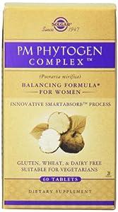 Solgar PM Phytogen Complex Tablets, 60 Count