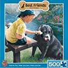 MasterPieces Best Friends Treat for Two Jigsaw Puzzle, 500-Piece