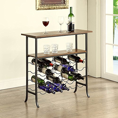 Kendall Console Wine Rack Table (Wine Console Table compare prices)