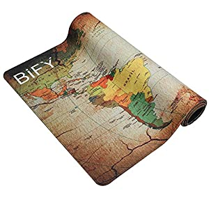 Bify extended xxl gaming mouse pad 900x400mm water resistant world bify extended xxl gaming mouse pad 900x400mm water resistant world map desk mat office work mat gumiabroncs Images