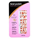 nail_world365 Artificials Finger Nail Polish Strip Nail Patch Nail Art Tattoo Nail Sticker