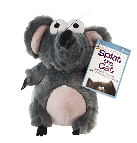 "Kids Preferred ""Splat the Cat"" Seymour Mouse Plush - Encourages Roleplay, Creativity, and Imagination - Safe and Asthma Friendly"