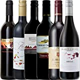 【Amazonワインアドバイザー厳選】6か国周遊ワインの旅 デイリーワイン 赤セレクト 飲み比べ 750ml×6本セット