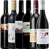 【Amazonワインエキスパート厳選】6か国周遊ワインの旅デイリーワイン赤セレクト飲み比べ750ml×6本セット ランキングお取り寄せ