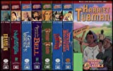 Living History Animated Hero Classics 8 VHS Video Collection: Harriet Tubman / Wright Brothers / Abraham Lincoln / Benjamin Franklin / Christopher Columbus / Florence Nightingale / George Washington / Alexander Graham Bell