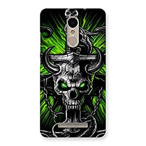 The Game Skull Back Case Cover for Xiaomi Redmi Note 3
