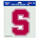 NCAA Stanford Cardinal 8-by-8 Inch Diecut Colored Decal
