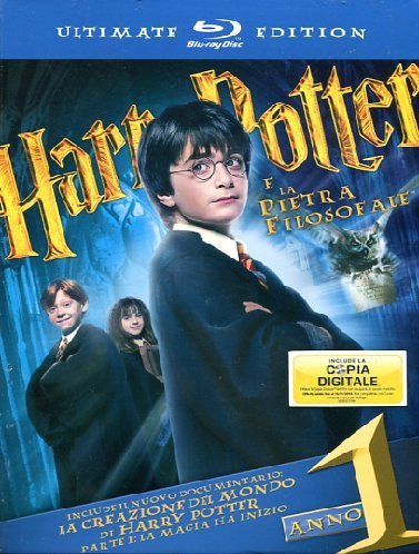 Harry Potter e la pietra filosofale (+libro) (ultimate collector's edition) [Blu-ray] [IT Import]
