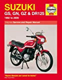 Haynes Manual for Suzuki GS, GN, GZ & DR125 Singles (82 - 05) Including an AA Microfibre Magic Mitt