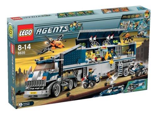 LEGO Agents 8635  Mission 6 Centrocomando Mobile