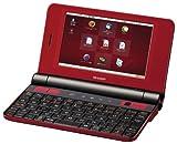 SHARP Net Walker 「辞書」&「ブック」対応 モバイルインターネットツール レッド系 PC-Z1J-R
