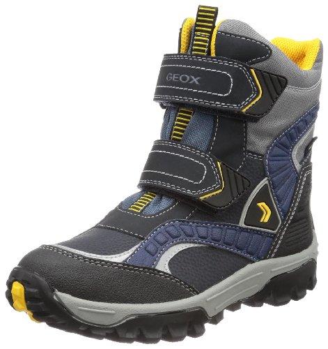 Geox J HIMALAYA WPF B Boys Snow Boots Blue Blau (NAVY/YELLOW C0657) Size: 3 (36 EU)