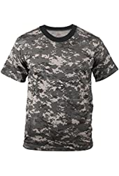 Men's Subdued Urban Digital Camouflage T-Shirt