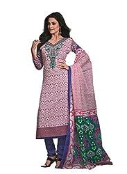 Design Willa Cotton Dress Material Saree (DW0300)