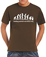 Touchlines Herren T-Shirt Something Somewhere...
