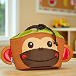 Kids' Drawstring Insulated Lunch Bag (Coco the Monkey)