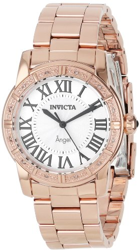 Invicta 14375 Diamond Accented Ion Plated Stainless