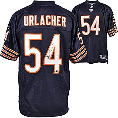 Chicago Bears Brian Urlacher Autographed Jersey - Fanatics Authentic Certified - Autographed NFL Jerseys