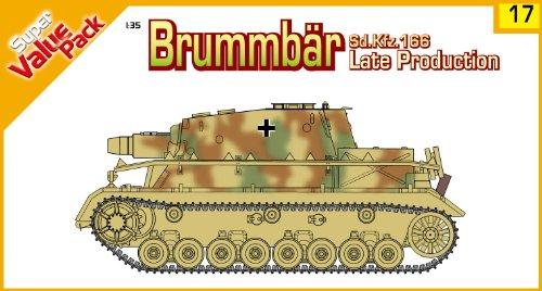"Buy Low Price Dragon Models 1/35 Sd.Kfz. 166 Late Production ""Brummb?r"" With bonus German figure set ""German Grenadiers, East Prussia 1945 and Magic tracks (B0031MWTI0)"