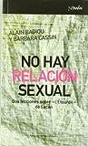img - for No hay relaci n sexual : dos lecciones sobre