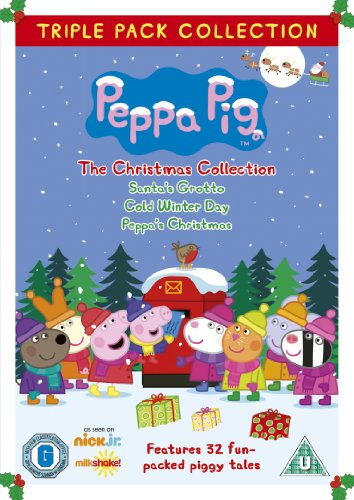 Peppa Pig Triple - The Christmas Collection 3 Disc (Vol 7,9 & 13) [DVD]