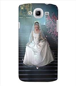 ColourCraft Princess Design Back Case Cover for SAMSUNG GALAXY MEGA 5.8 I9150