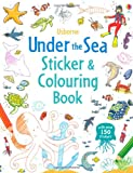 Jessica Greenwell Under the Sea Sticker and Colouring Book (Usborne Sticker and Colouring Books)
