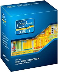 Intel Core i3-3220 Dual-Core Processor (3MB Cache, 3.3 GHz) Intel HD Graphics 2500