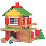 JeuJura - Jouet en bois - Maison Forestiere - 135 Pieces