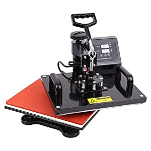 Ambienceo 8 In 1 Digital Heat Press Machine Transfer Printer