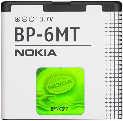 Nokia Battery BP-6MT for Nokia 6720 classic, E51, N81, N81 8GB, N82