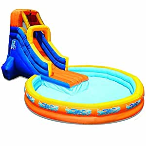 Banzai The Plunge Water Slide (with 12ft Diameter Pool and Blower Motor)