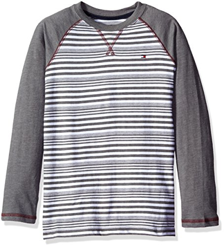 Tommy Hilfiger Boys Alexa Stripe Jersey Long Sleeve Tee