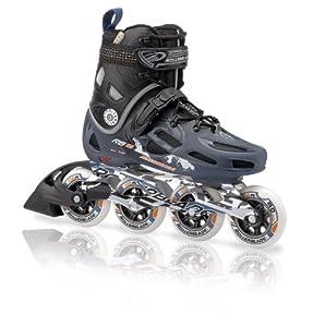 Rollerblade Mens RB 90 Urban Skate, Black Blue, Mens US 5 by Rollerblade