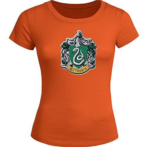 Harry Potter Slytherin Crest For Ladies Womens T-shirt Tee Outlet