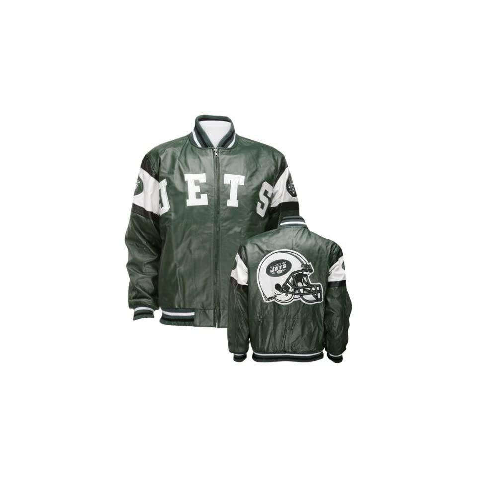 New york jets leather jacket