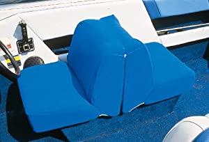 Taylor Made Products Boat Seat Cover (Back to Back Lounge Seat, Blue)