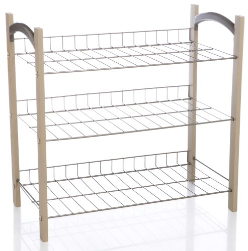 Homz Designer 3-Tier Accessory Shelf
